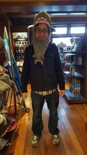Shark bait, woo ha ha!