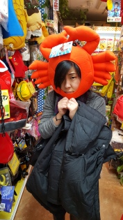 Ridiculous hats in Donki
