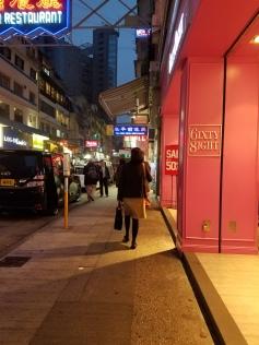 Tsim Sha Tsui at night