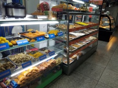 Food for sale on the ground floor