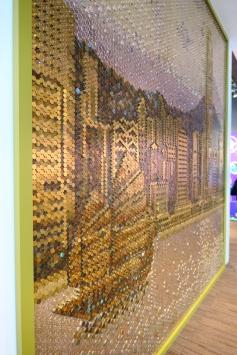 Mosaic of Hong Kong Skyline - Close up