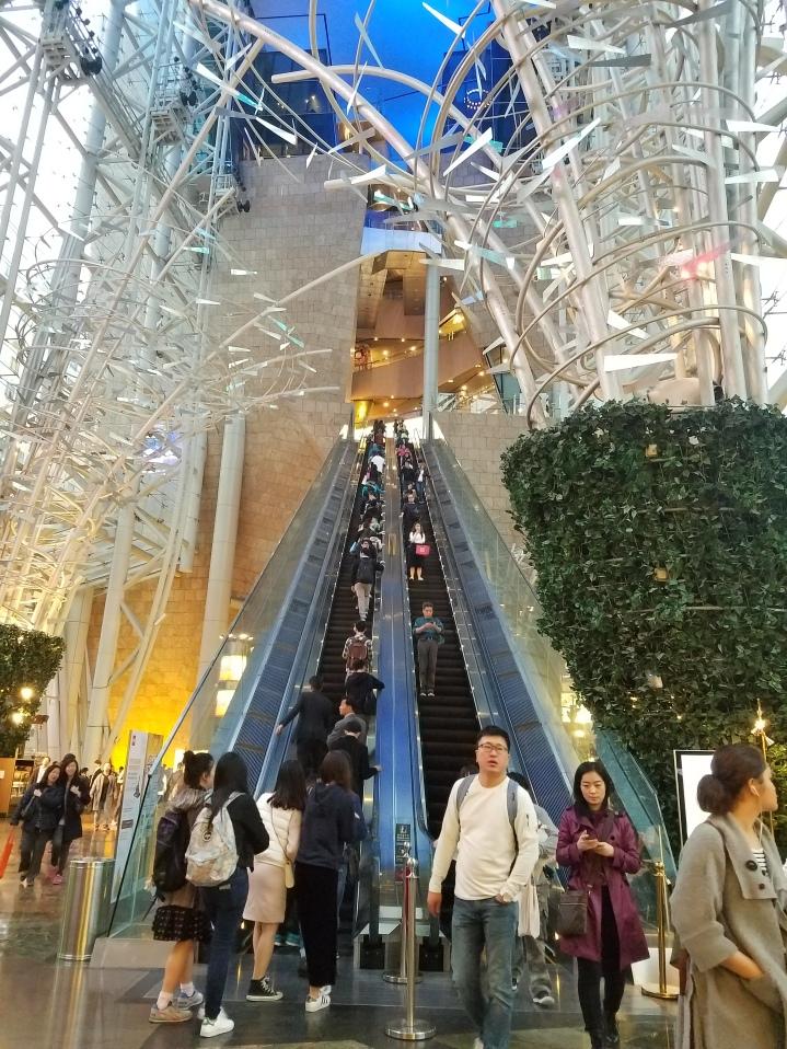 The escalator of doom!