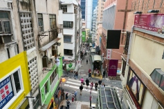 Central to Mid Level Escalators - Hong Kong